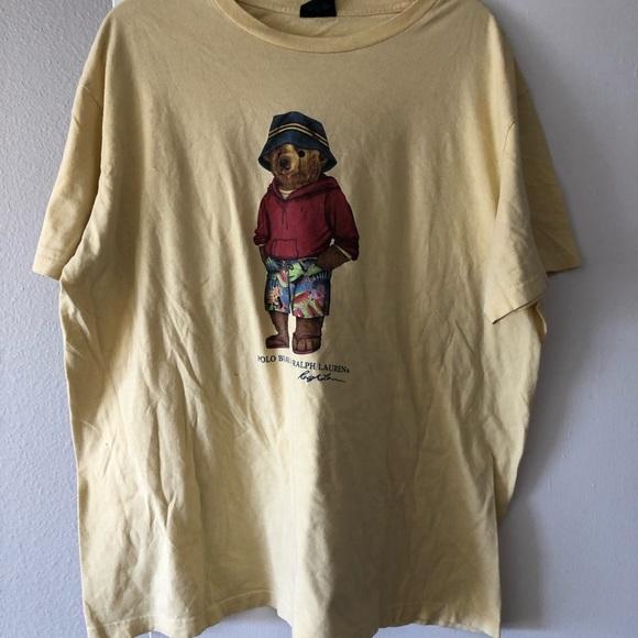 c44334ee Polo Ralph Lauren Men's Polo Bear Cotton T-shirt